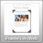 iFrames in iWeb