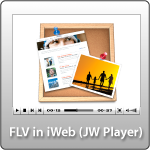 Flash Video in iWeb