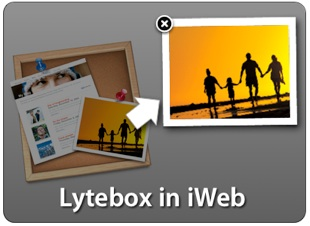 Lytebox in iWeb