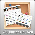 Tip #27 - CSS Buttons in iWeb