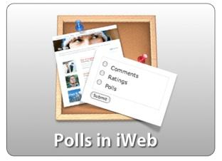 Polls in iWeb