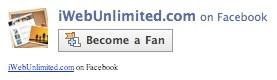 Fanbox in iWeb