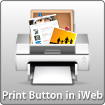 Print Button in iWeb