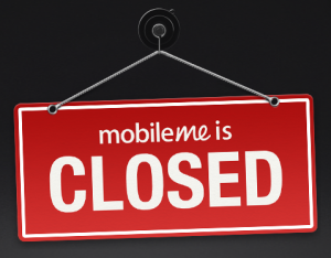 mobileme is closed