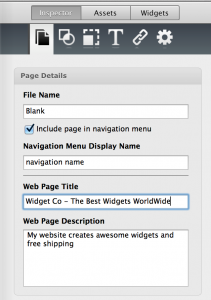 Meta Tags in EverWeb