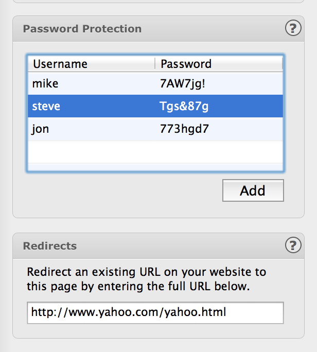 Creating a Membership Page With EverWeb's Password Protection