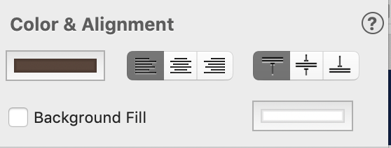 EverWeb Text Alignment Settings